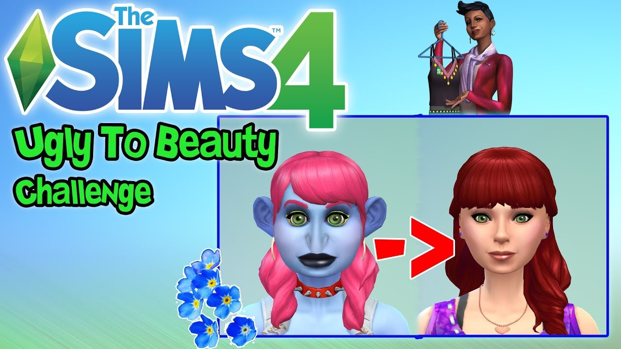 THE SIMS 4 – Ugly to Beauty Challenge z MaryKateAn ✨