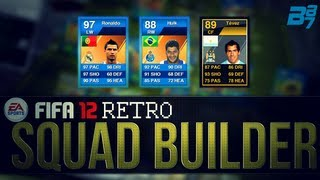fifa 12 ultimate team retro squad builder insane hybrid team