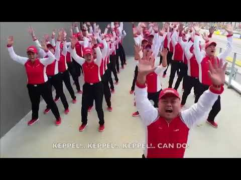 "Keppel Corporation 'Haka"" dance, so cringy"
