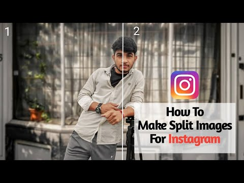 How To Split Images For Instagram / Seamless Multi Post Tutorial
