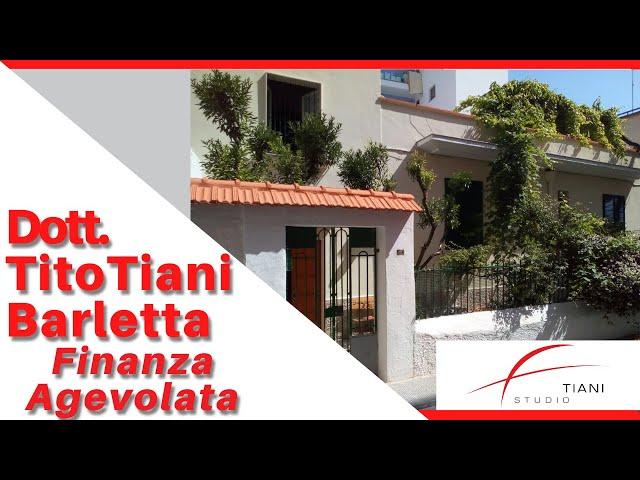 COMMERCIALISTA BARLETTA TITO TIANI - FINANZA AGEVOLATA STUDIO TIANI - CASA DUCONTE