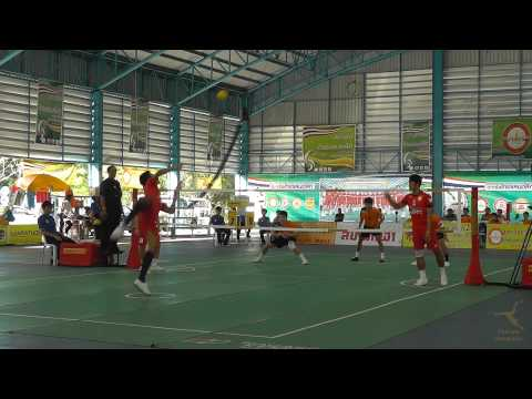 2013 Sepak Takraw Thai League Bangkok vs Chaiyaphum - 1st Regu Week16