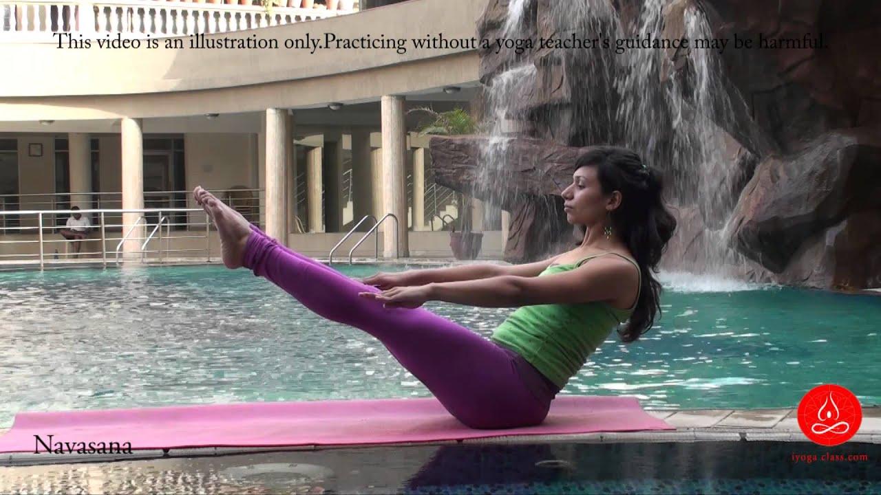 Paripurna Navasana, Full Boat yoga pose - YouTube