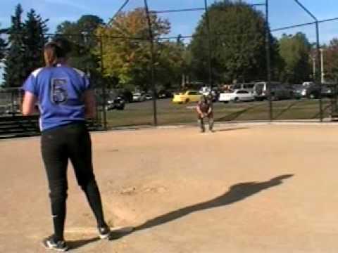 Dana Schumacher pitching