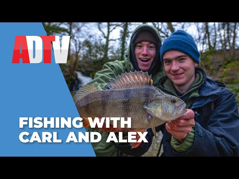 CARL And ALEX FISHING With Angling Direct - Micro Stream, Crystal Clear Canal And A MUDDY Ditch!