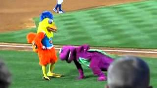 famous chicken dances with barney youtube make4fun com 9ed35