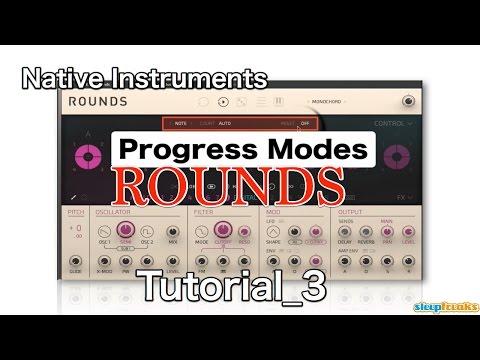 Native Instruments ROUNDSの使い方③ Progress Modes(Sleepfreaks DTMスクール)