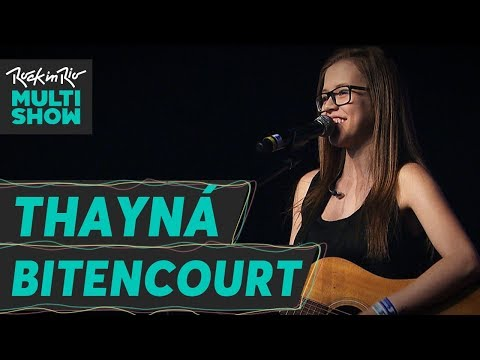 Thayná Bitencourt canta Chifre Não É Asa   Rock In Rio 2017