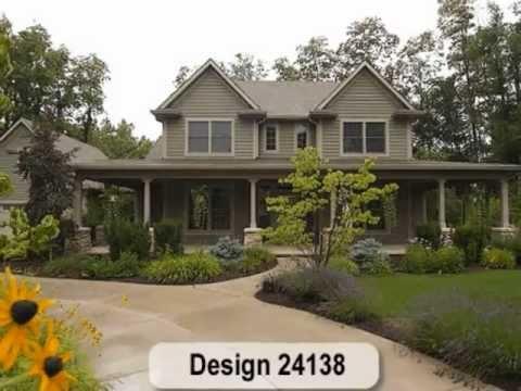 Farmhouse Home Plans from Design Basics, LLC
