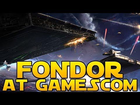 FONDOR SPACE BATTLES AT GAMESCOM - Star Wars Battlefront 2 News