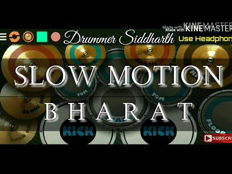 Slow Motion (Drum Cover) | Vishal-Shekhar, Shreya Ghosal, Nakash Aziz| Bharat | Cover By Siddharth