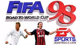 FIFA 98 Road to World Cup gameplay (Sega Mega Drive/Genesis).