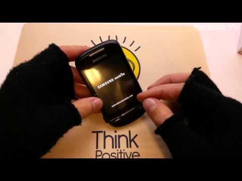 Samsung Corby 2 II S3850 - HARD RESET - ustawienia fabryczne