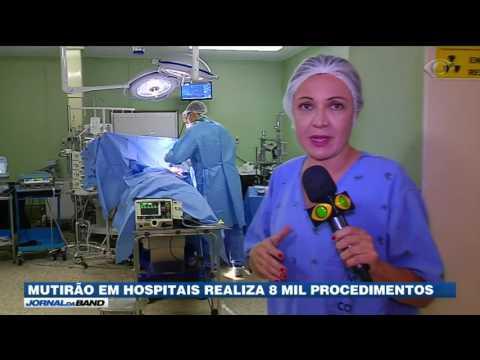 Mutirão em hospitais realiza oito mil procedimentos