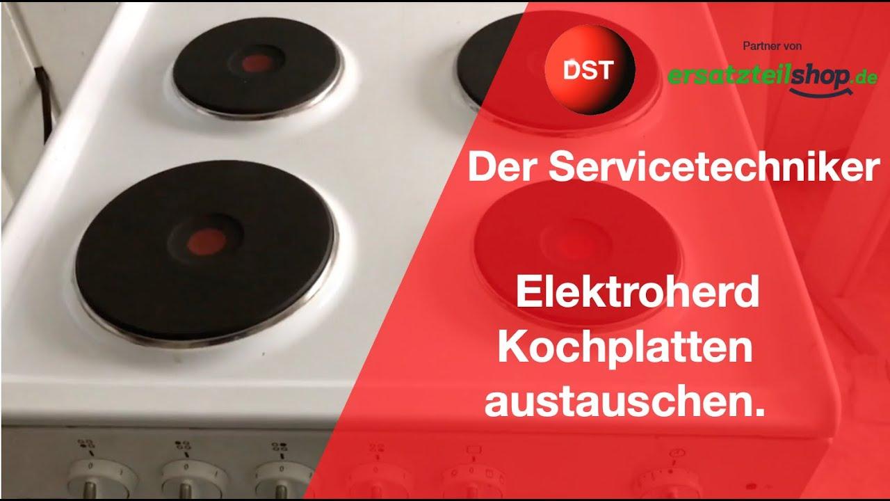 Miniküche Kühlschrank Austauschen : Elektroherd kochplatten austauschen einfach gemacht youtube