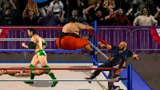 WWF Wrestlemania: The Arcade Game (PS1) Playthrough - NintendoComplete