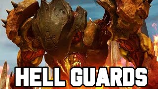 HELL GUARDS BOSS!! DOOM Gameplay Walkthrough Part 14 (Doom 4 PS4/X1/PC 1080p 60fps)