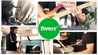 I hired musicians on FIVERR to make a song from SCRATCH ft Saxologic