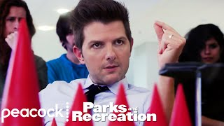 Ben Throws Down on Cones of Dunshire - Parks and Recreation
