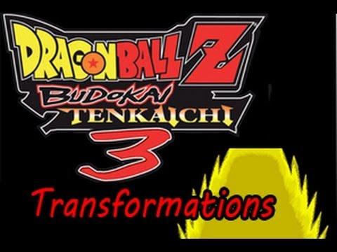 Dragon Ball Z Budokai Tenkaichi 3 - Mod Character Reference (Wii