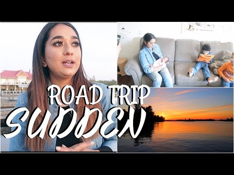 Sudden Road Trip To Muskoka To see SUNSET || Visiting Cousin #Dailyvlogs