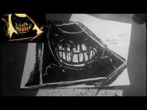 РИСУЕМ ДЕМОНА БЕНДИ - Drawing A Demon Bendy