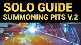 Planet Destiny: Solo Nightfall Guide, Summoning Pits (v.2)