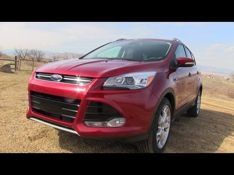 2013 Ford Escape Ecoboost 0-60 MPH Mile High Performance Test