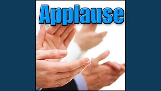 Applause, Crowd - Medium Studio Audience: Heavy Applause, Standing Ovation with Audience Rising...