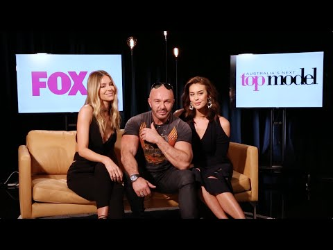 Jen Hawkins, Alex Perry & Megan Gale || Next Top Model Interview