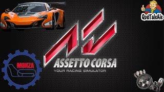 Assetto Corsa - Logitech G27 - Gameplay ITA - McLaren 650S GT3 - Monza [GARA]