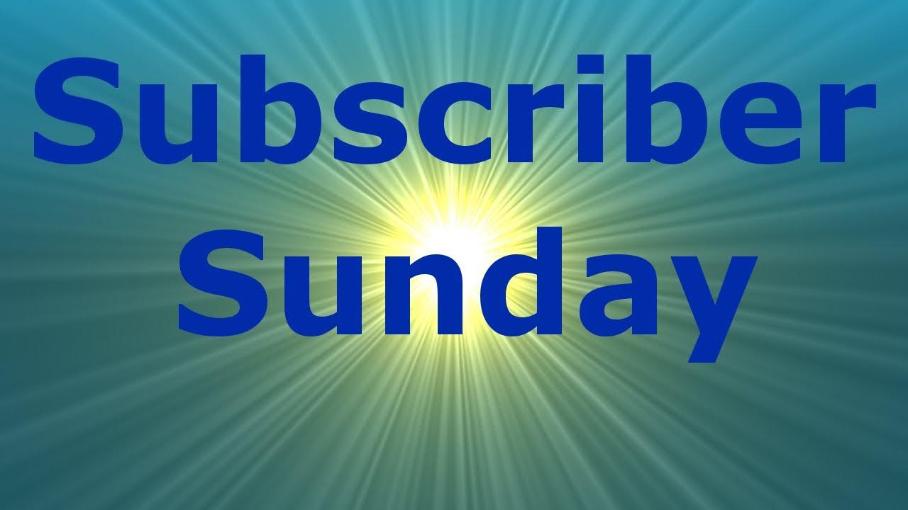 Download Subscriber Sunday Ep21.   ItsThePanther   Daniel Jangenfors