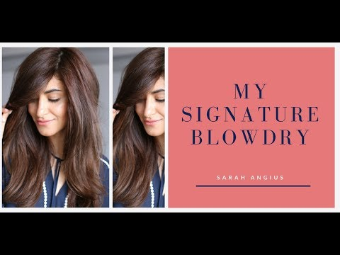 My signature blow dry | EASY!