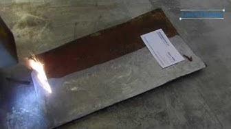 Removing rust with laser / Ruosteen poisto laserilla