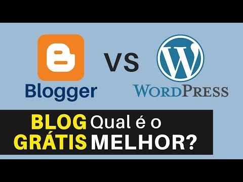 Blogger ou WordPress.com: Qual o Melhor Site Para Criar Um Blog GRÁTIS