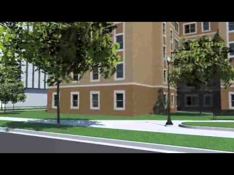 New residence hall fly-through