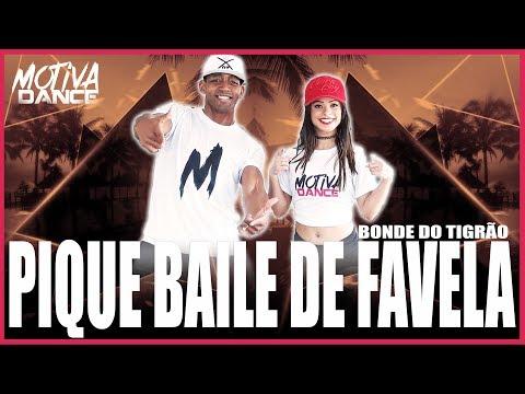 Pique Baile de Favela - Bonde do Tigrão  Motiva Dance Coreografia