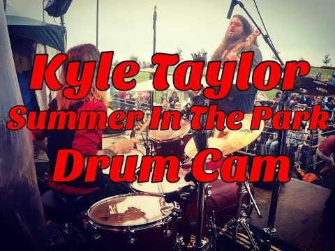 Grooove LIVE @ Summer In The Park 2017 (Kyle Taylor Drum Cam)