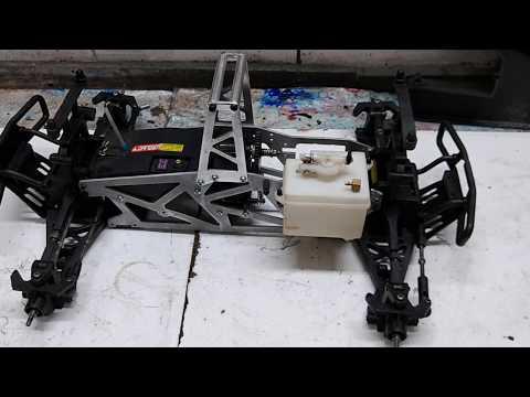 Automodelo Savage RTR 5.9 restaurada do Wagner do Espírito Santo Vd 3