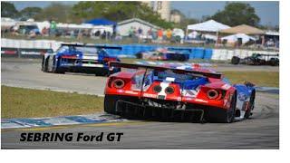 Ford GT GTE Pista Sebring