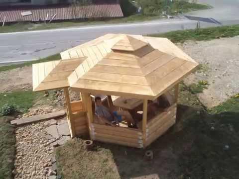 Izrada letnjikovca od drveta-Nemanja Zekic