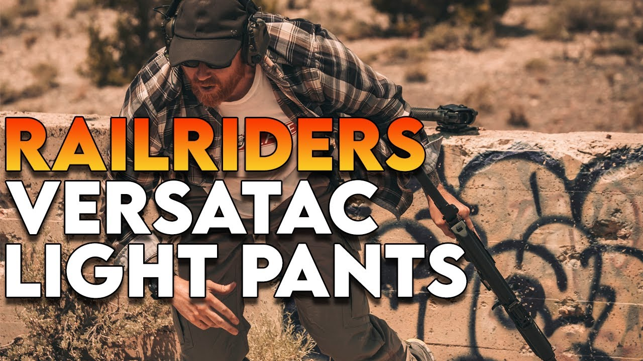 RailRiders Versatac Light Pants