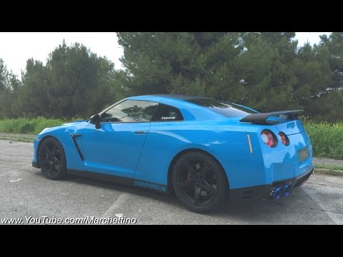 Fitting new Brakes, Tires and Wheels on the Nissan GT-R