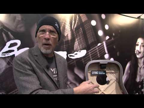 NAMM 2013 - LR Baggs - Lyric Acoustic Microphone