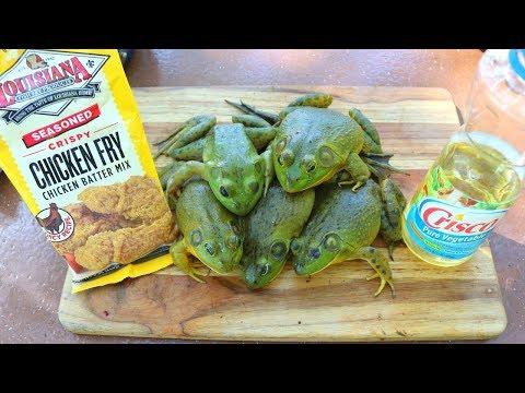Chicken Fried Frog Legs - Catch n' Cook Bullfrogs