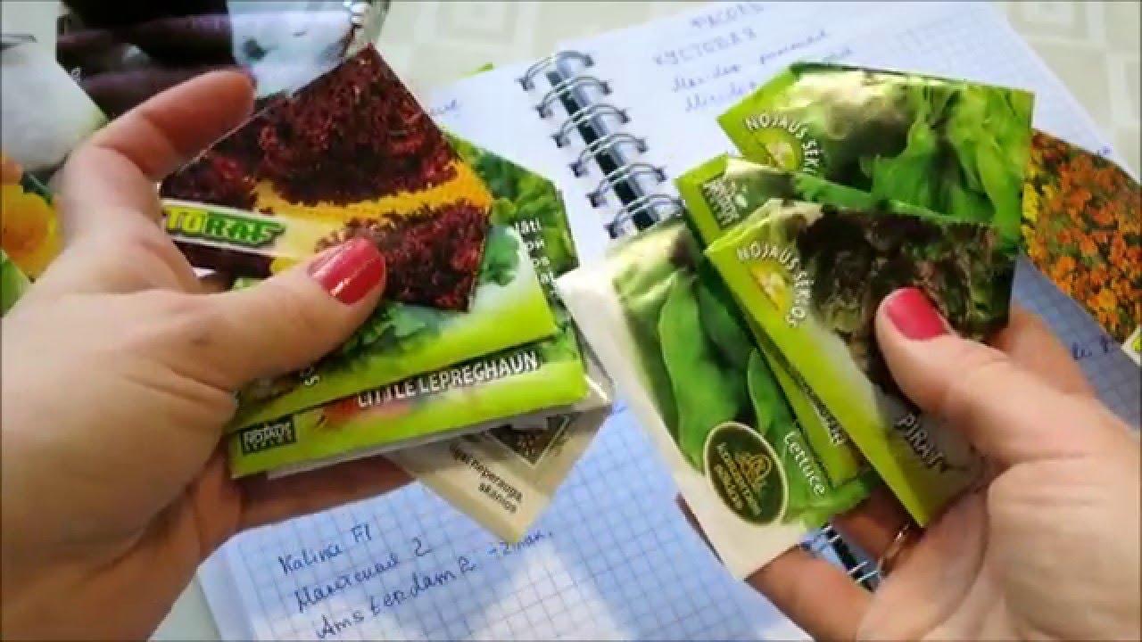 Зимняя ревизия семян. ХВАТИТ покупать семена!!! // Winter audit of seeds -  YouTube