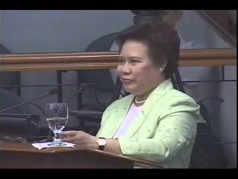 Dick Gordon on Senator Miriam Defensor Santiago