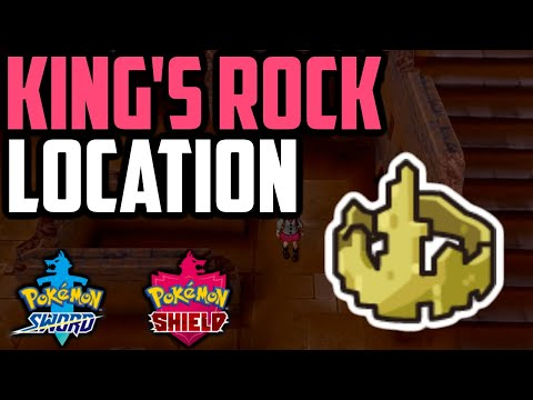 Where To Find King's Rock - Pokemon Sword & Shield (All Methods)