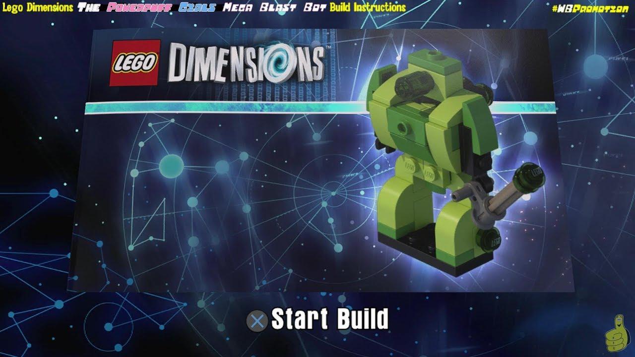 Lego Dimensions Fun Pack Powerpuff Girls Buttercup #71343