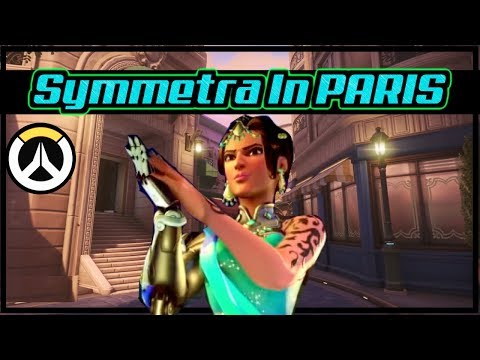 A Salty Symmetra Main in Paris & More (Ranked Overwatch) thumbnail